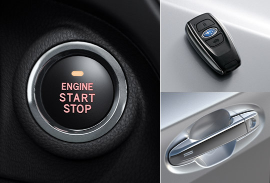 Keyless Access and Push-button Start System